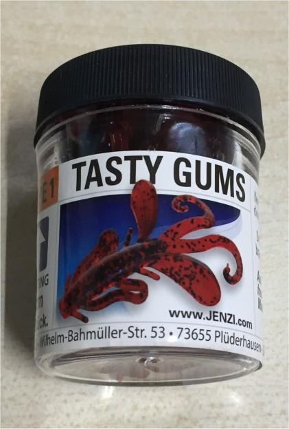 JENZI Tasty Gums Type 3 Käse Knoblauch Aroma Gummiköder schwimmend 6cm